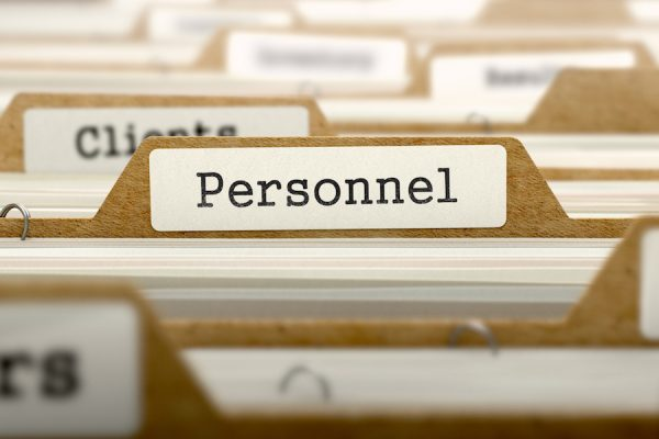 What state are your personnel files in?