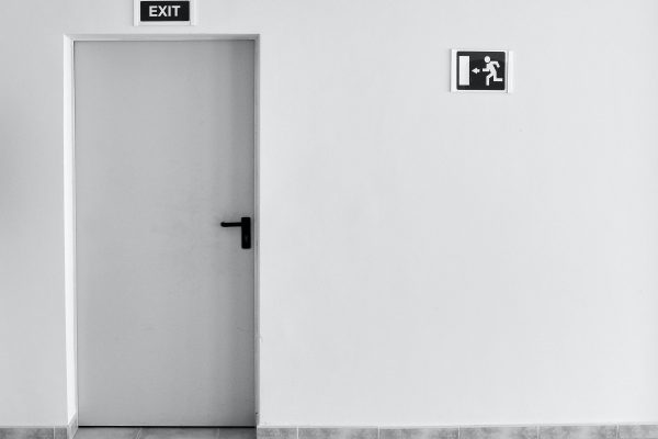 Exit Sign - Employee reluctance to return to the workplace